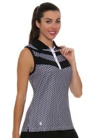 fe99d3c9 GGBlue Women's Velocity Sonia Golf Sleeveless Shirt