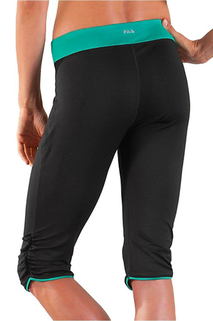 Ruched Tight Capri FT-FW123U90 Image 5