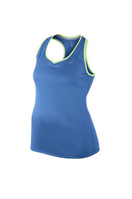 Nike Women's Plus Size Racerback Tank - Distance Blue