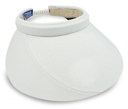 "Shady Lady 5"" White Visor IH-SD03-White Image 4"