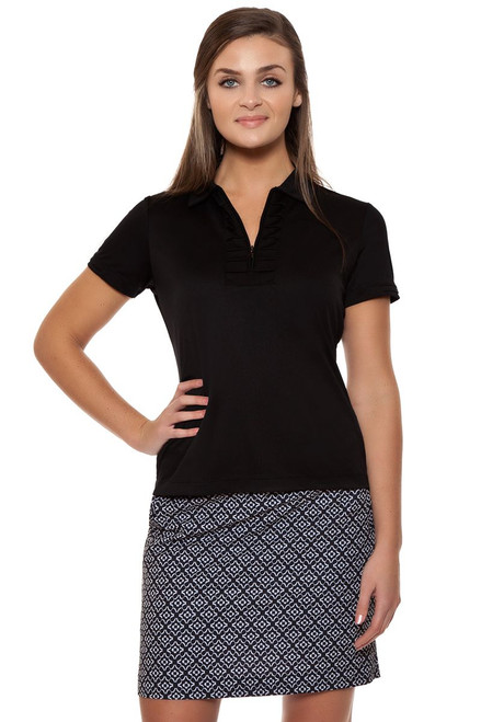 Pleat Placket Golf Polo Shirt EP-5322HB Image 1