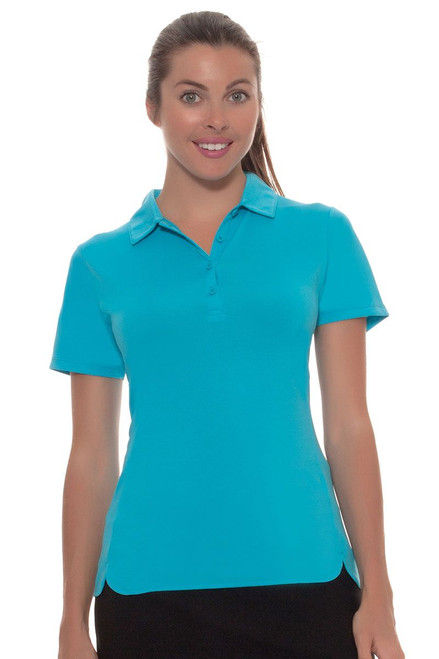 EP Pro Women's Basics Performance Jersey Short Sleeve Golf Polo Shirt