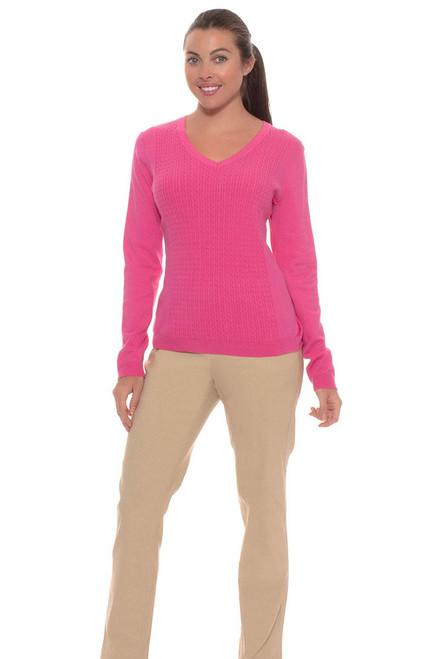 EP Pro Women's Basics Slimming Ankle Length Golf Pants
