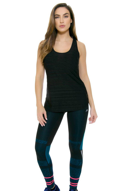 9d08d2c50c6ad Impact Premium Printed Workout Tight NB-WP63231-339 | Blue workout ...