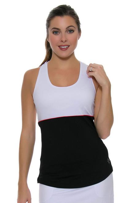 Jofit Women's Barossa Sport Loop Back Tennis Tank JF-TT042-BNW Image 4