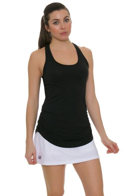 New Balance White Casino Tennis Skirt