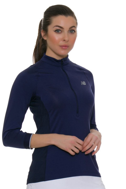 Bellevue 3/4 Sleeve Tennis Top NB-WT53429-AVI