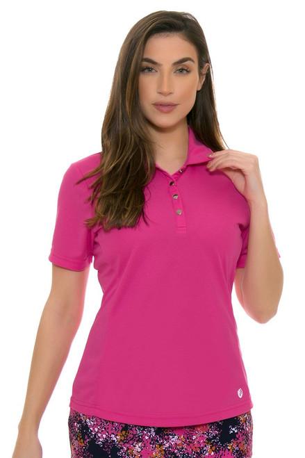 GGBlue Women's Venezuela Tina Cerise Golf Polo Shirt