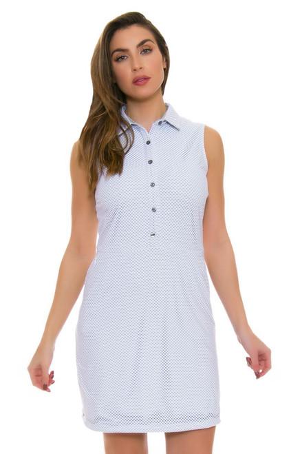 Dagny Scout Seafoam Mesh Golf Dress