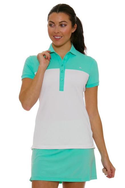 J. Lindeberg Women's Amelie Mint Pull On Golf Skort