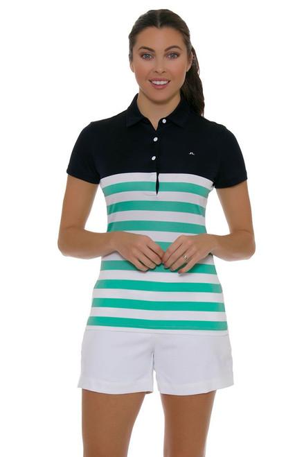 J. Lindeberg Women's Fia Micro Stretch White Golf Short