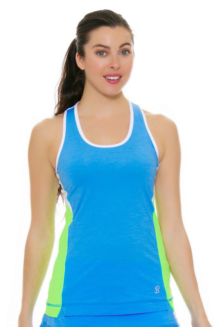 Sofibella Women's Triumph Athletic Racerback Workout Tank