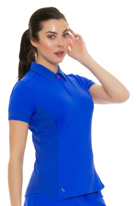 Lole Women's Spring Jordan Dazzling Blue Golf Polo Shirt