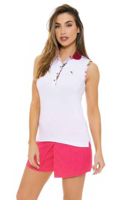 Chervo Women's Tropical Emotion Gaia Pink Golf Shorts