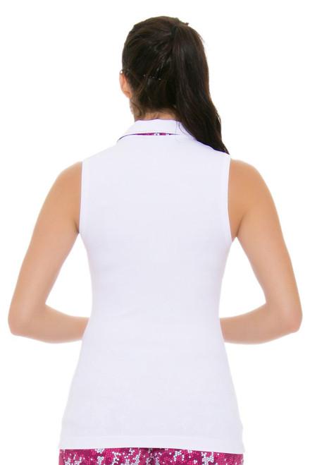 2e38366f8c3dd ... Chervo Women s Tropical Emotion Andrate White Golf Sleeveless ...