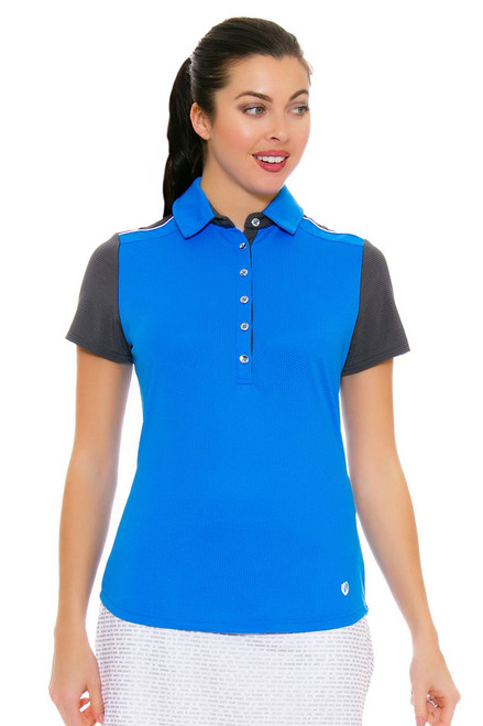 GGBlue Women's Turks & Caicos Dylan Caribbean Golf Polo Shirt