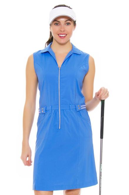 Cracked Wheat Women's Summer Breeze Caelie Chambray Golf Dress