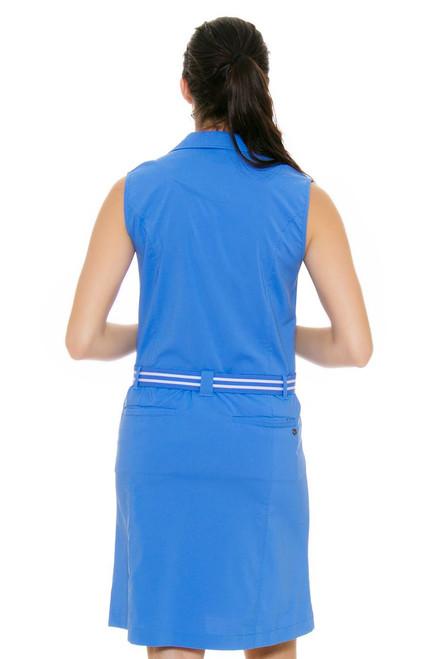 ac9a8e51469 Cracked Wheat Women s Summer Breeze Caelie Chambray Golf Dress CWT ...