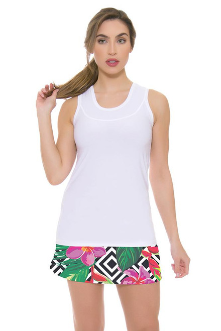 Allie Burke Women's Floral Geo Print Tennis Skirt