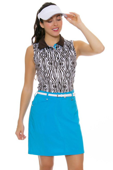 GGBlue Women's Serengeti Wedge Basin Golf Skort