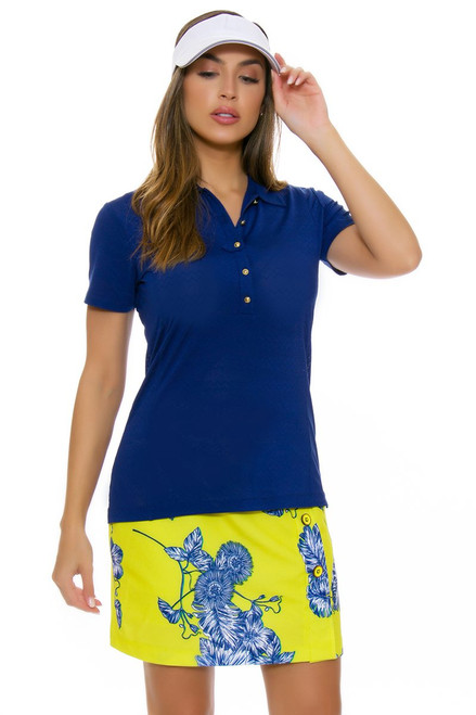 EP Pro NY Women's Palmetto Tropical Floral Print Golf Skort