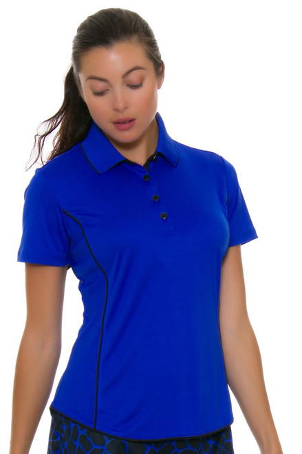 Greg Norman Women's Animal Instincts ML75 Piped Golf Polo