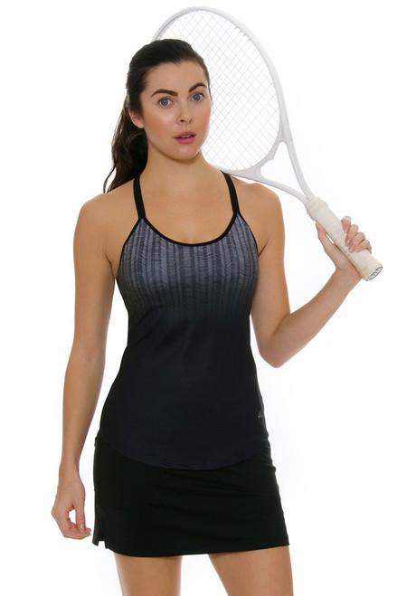 Jofit Jacquard Black Mina Tennis Skirt