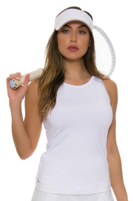 Lole Women's Kayla White Tennis Tank