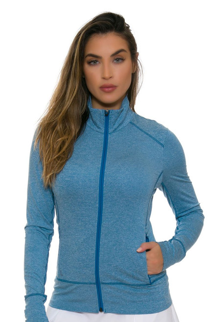 Lole Women's Essential Up Seaport Heather Jacket