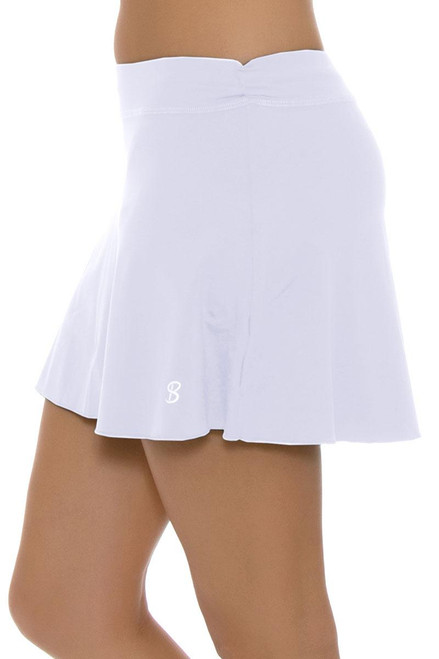 f70652f2f4 Sofibella Flounce White Tennis Skirt - 3 Lengths SFB-7006 | White ...