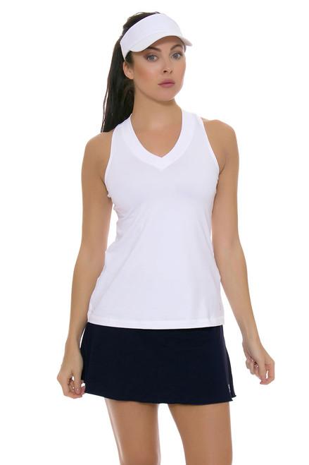 Sofibella Flounce Navy Tennis Skirt - 3 Lengths SFB-7006-Navy1