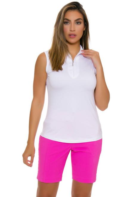 EP Pro NY Women's Basics Rosa Stitch Crease Golf Shorts