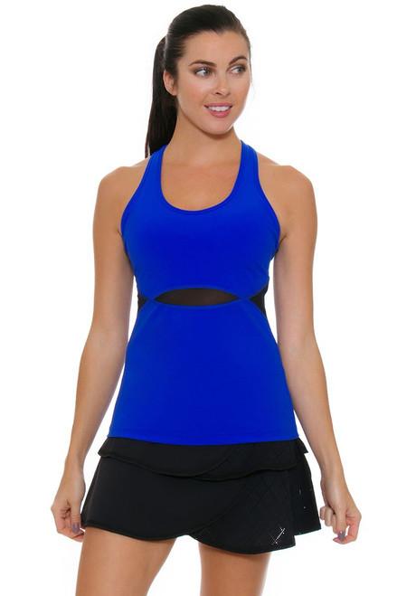 Tonic Active Women's Kaleidoscope Black Breeze Tennis Skirt