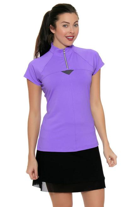 Annika Womens City Luxe Kiri Knit Golf Skort