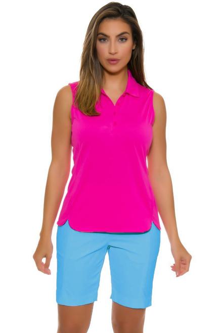 EP Pro NY Women's Basics Aquaduct Stitch Crease Golf Shorts