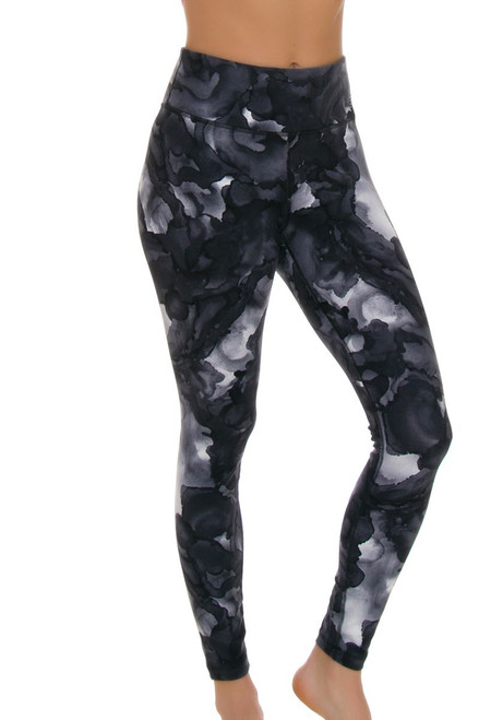 New Balance Women's Sea Salt High Rise Printed Workout Tight NB-WP73144-SSN Image 1