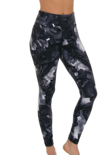 New Balance Women's Sea Salt High Rise Printed Workout Tight NB-WP73144-SSN Image 1