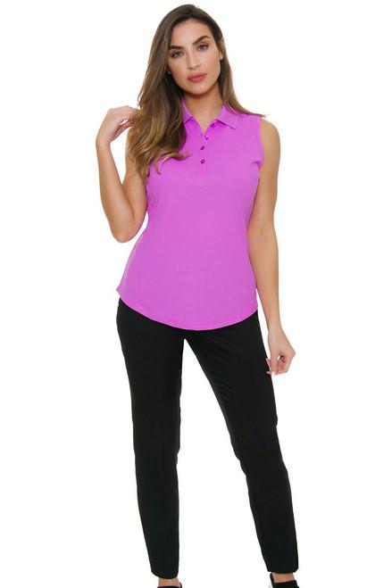 Greg Norman Women's Essentials Easy Play Stretch Black Golf Pants