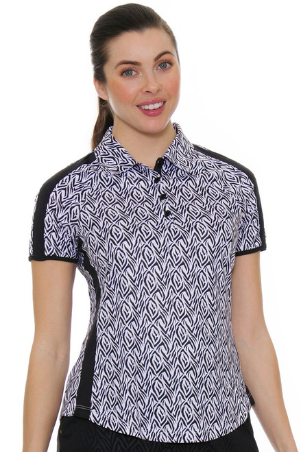 Greg Norman Women's Jungleland El Tigre Golf Polo Shirt