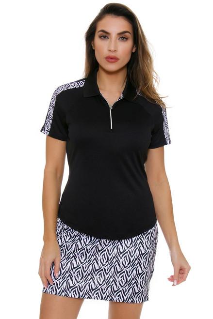 Greg Norman Women's Jungleland ML75 Catarina Golf Polo Shirt