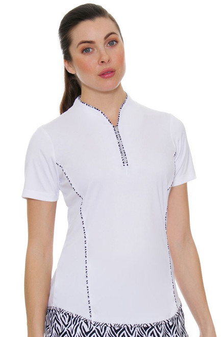Greg Norman Women's Jungleland ML75 Liana Golf Polo Shirt