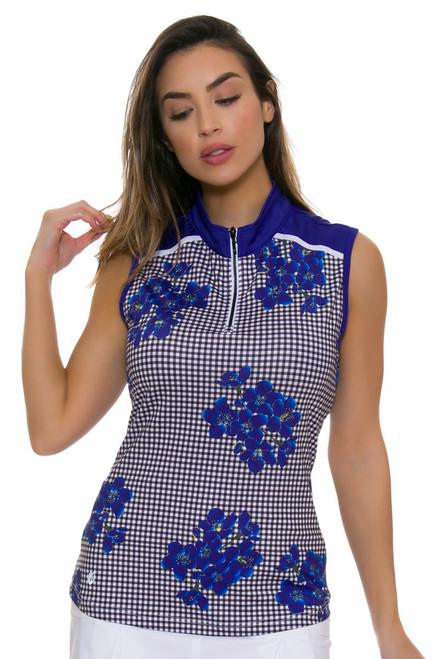 GGBlue Women's Defined Nia Golf Sleeveless Shirt
