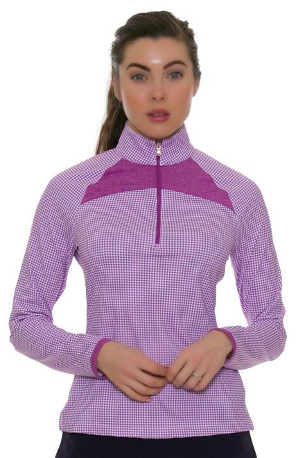 Fairway & Greene Women's Moxie Jules Golf Long Sleeve Top