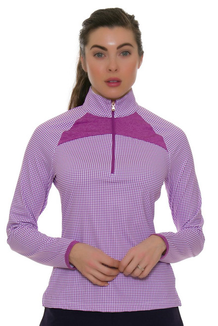 Fairway & Greene Women's Moxie Jules Golf Long Sleeve Top