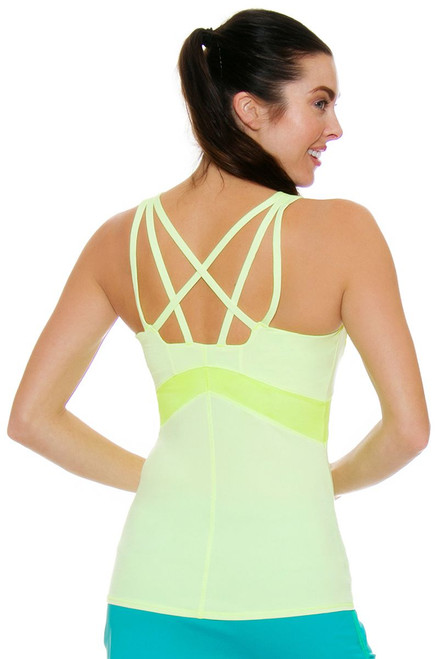 Lucky In Love Women's Haviana Shock Cami Tennis Tank