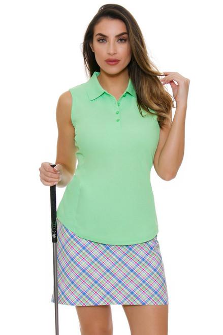 Greg Norman Essentials Preppy Plaid Golf Skort - Size 2