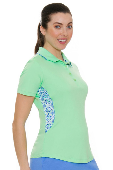 Greg Norman Women's Barcelona ML75 Barista Golf Polo Shirt