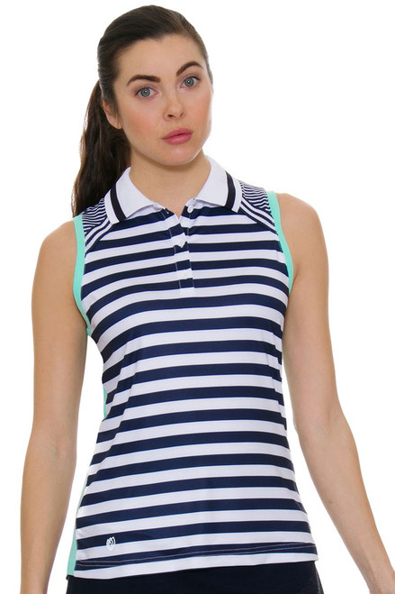 GGBlue Women's Unify Cora Golf Sleeveless Shirt