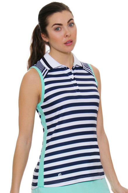 GGBlue Women's Unify Cora Golf Sleeveless Shirt