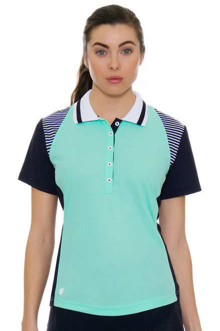 GGBlue Women's Unify Raven Golf Polo Shirt